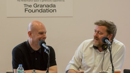 Phil Selway and Guy Garvey