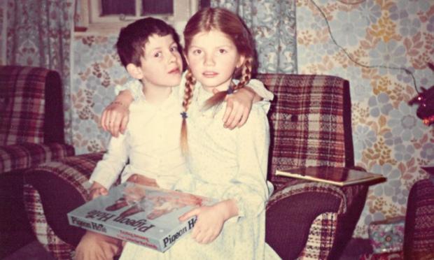 Cathy Rentzenbrink and her brother Matty