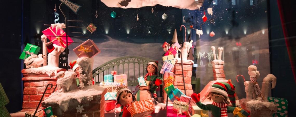 Fenwick's Christmas Window Display