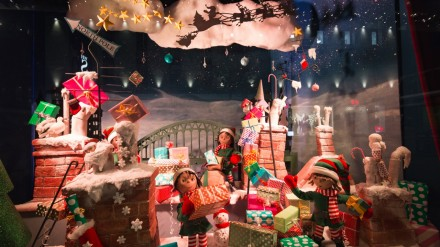 Fenwick's Christmas Window Display
