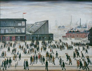 Going-to-the-Match-by-LS-Lowry