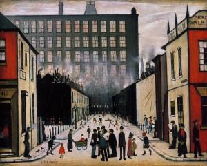 Street Scene - Lowry Terraces