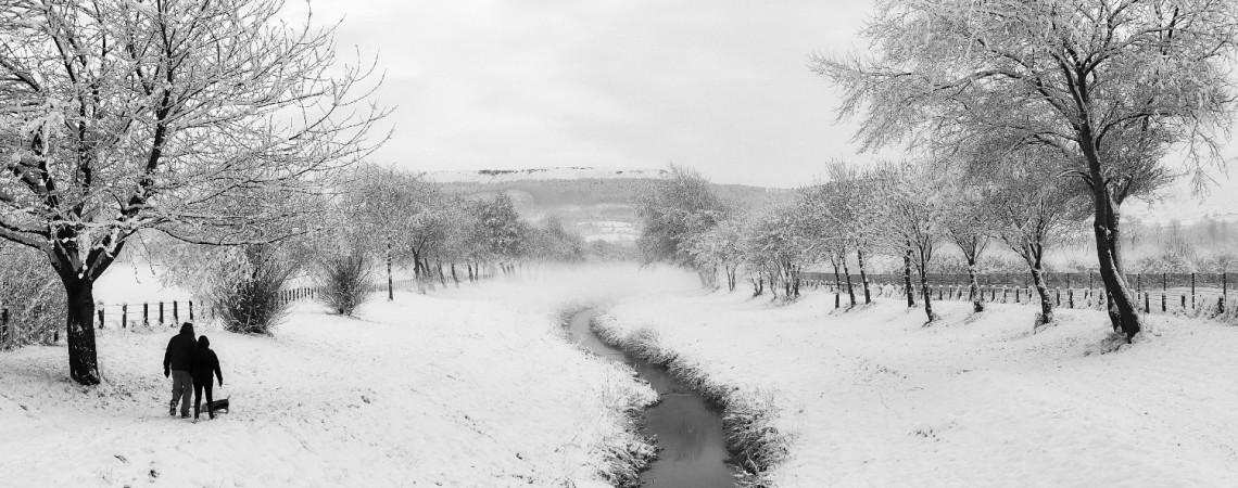 Winter walk by Paul Hunter