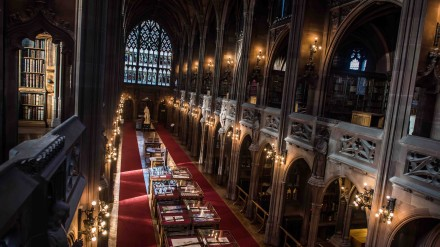 John Rylands Library by Chris Payne
