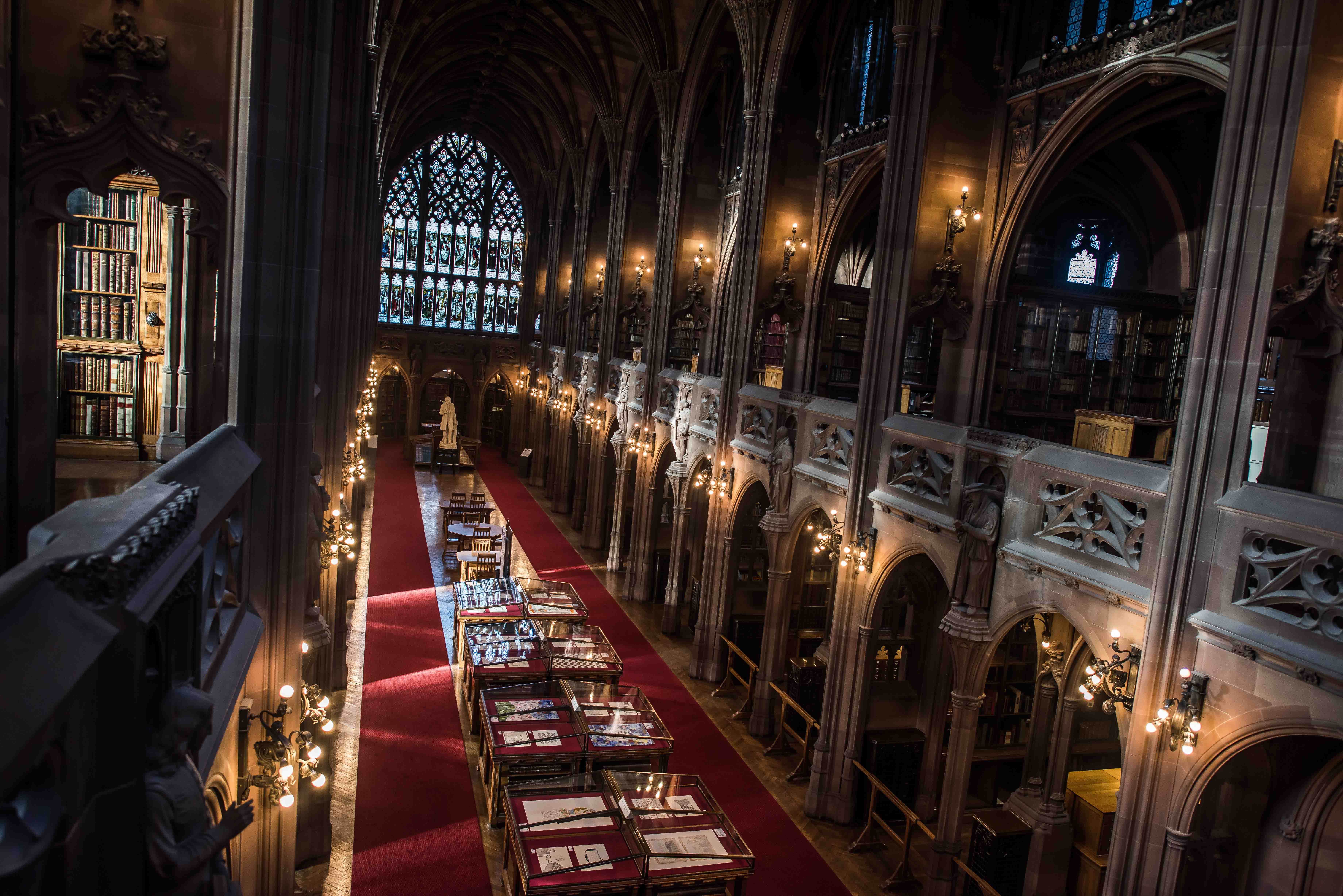 Northern Soul A Gothic Gem John Rylands Library In Manchester