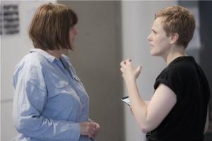 Sarah Frankcom (Director) & Maxine Peake (The Skriker) Credit Jonathan Keenan