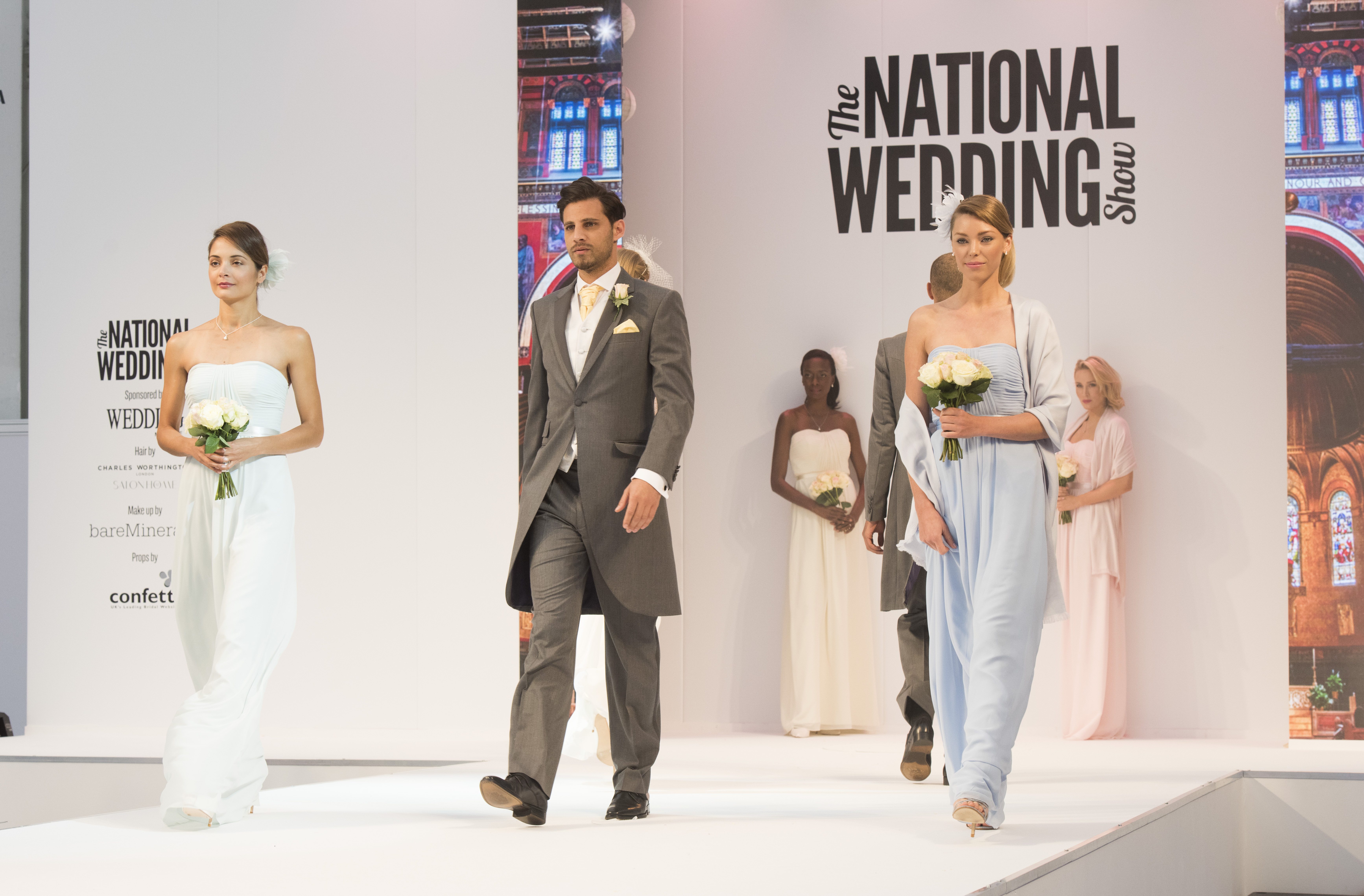 The Catwalk At National Wedding Show