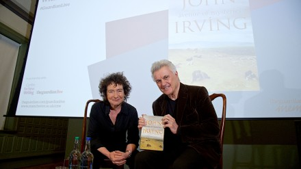 John Irving and Jeanette Winterson