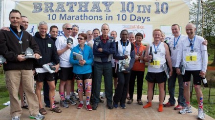 brathay 10 in 10 finishers - 2012
