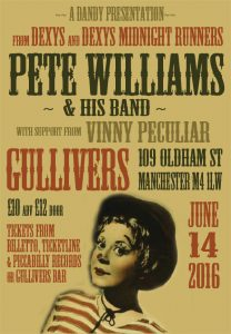 Pete Williams at Gullivers
