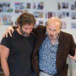 Rehearsal The Might Walzer Elliot Levey (Oliver Walzer) & Jonathan Tafler (Joel Walzer)