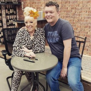 Chris Park with Julie Goodyear