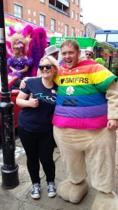 Hayley-Jane at Manchester Pride