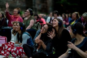 Audience at Moonlight Flicks