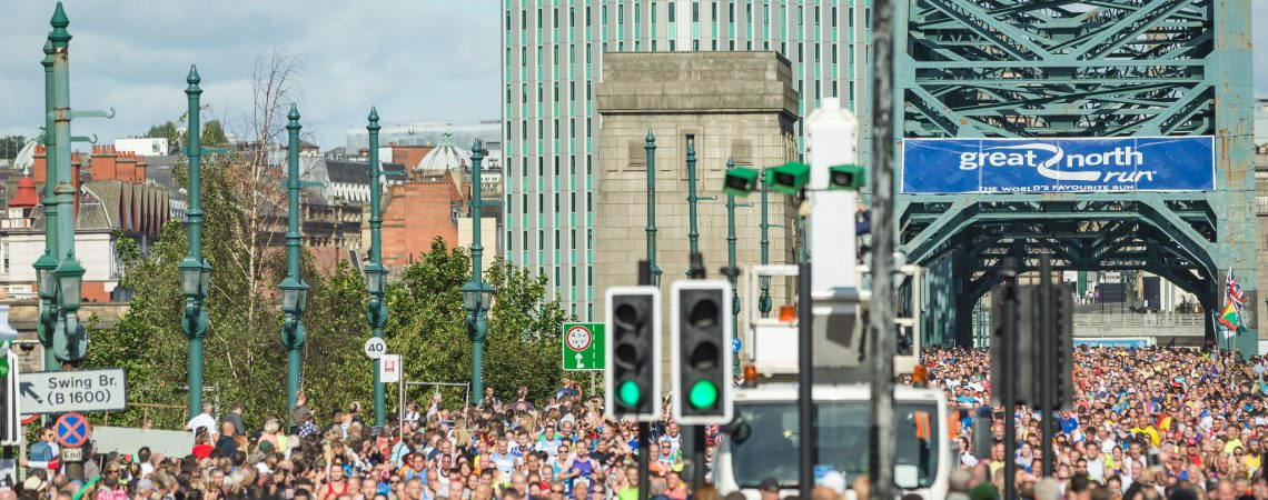 Great North Run by Phil Pounder