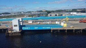 Port of Tyne by Lyndsey Skinner