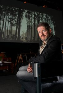 Comics Laureate appointment announced. Charlie Adlard, creator of The Walking Dead comics is announced as the new Comic Laureate at Kendal International Comic Arts Festival in Kendal. Friday 14th October 2016. HARRY ATKINSON