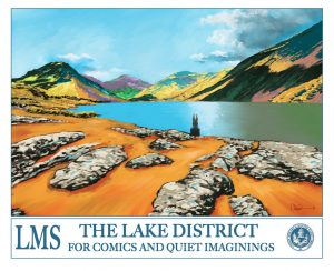 The Lake District for Comics and Quiet Imaginings by Charlie Adlard