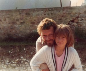 Alan Dossor with daughter Lucy