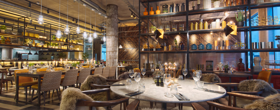 Manchester - Dining area, image by Drake and Morgan