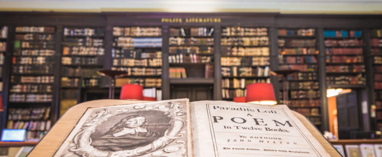 Be Strong, Live Happy and Love: 350 years of Paradise Lost at The Portico Library, Manchester