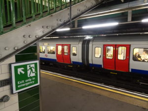 London tube, image by Isabel Webb