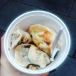 Vegetable and vermecelli dumplings