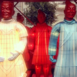 The Lanterns of the Terracotta Warriors.
