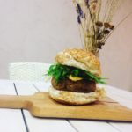 Wildflower vegan burger