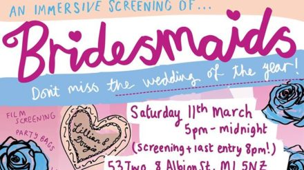 Girl Gang Mancester, Bridesmaids poster