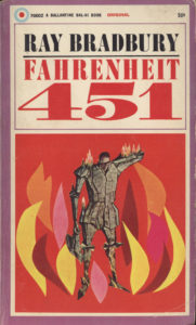 Farehneit 451 Book Cover