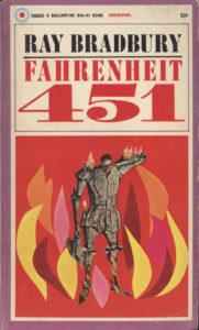 Farehneit 451 Book Cover
