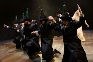 The Everyman Company in Fiddler on the Roof. Photograph by Stephen Vaughan.