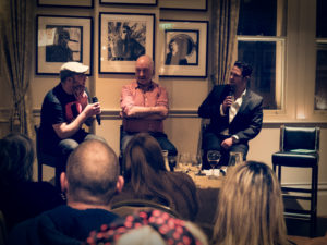 Paul Husband, Tony Husband, Chris Hawkins, image by Kerry Hargreaves
