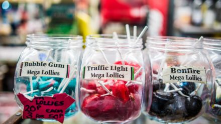 Sweets, Bury Market by Chris Payne