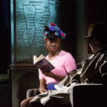 Vivienne Acheampong in Paul Auster's City of Glass by 59 Productions Photo by Jonathan Keenan