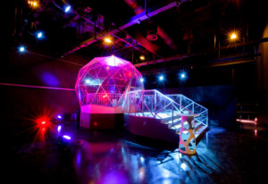 The Crystal Dome, The Crystal Maze Experience, Manchester