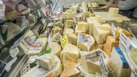 Bury Market Cheese by Chris Payne