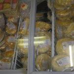 Gluten-free pies at Helen's Kitchen, Bury Market