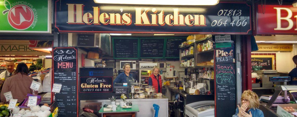 Helens kitchen, Bury Market