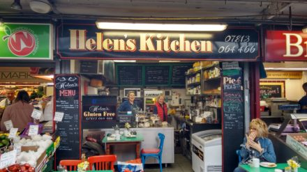 Helens kitchen, Bury Market