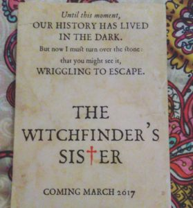 The Witchfinder's Sister, Beth Underdown