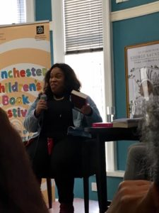 Angie Thomas. Waterstones Deansgate, Manchester