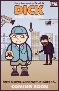 Dick & Stewart Poster, Richard Littler