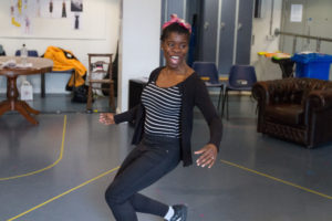 Faith Omole as Viola in Twelfth Night photo Jonathan Keenan 2