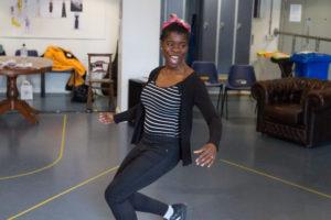 Faith Omole as Viola in Twelfth Night photo Jonathan Keenan 2
