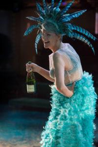 RET Twelfth Night - Kate ODonnell (Feste) image Jonathan Keenan