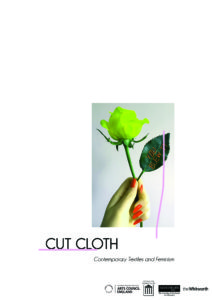 Cut Cloth exhibition flyer