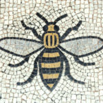 Bee mural, Manchester Town