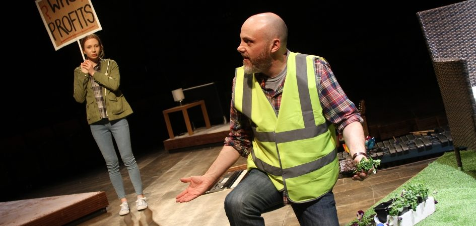 Emily Hughes & Liam Tobin in The Sum photograph by Stephen Vaughan